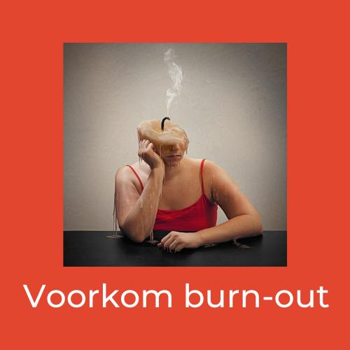 voorkom burn-out