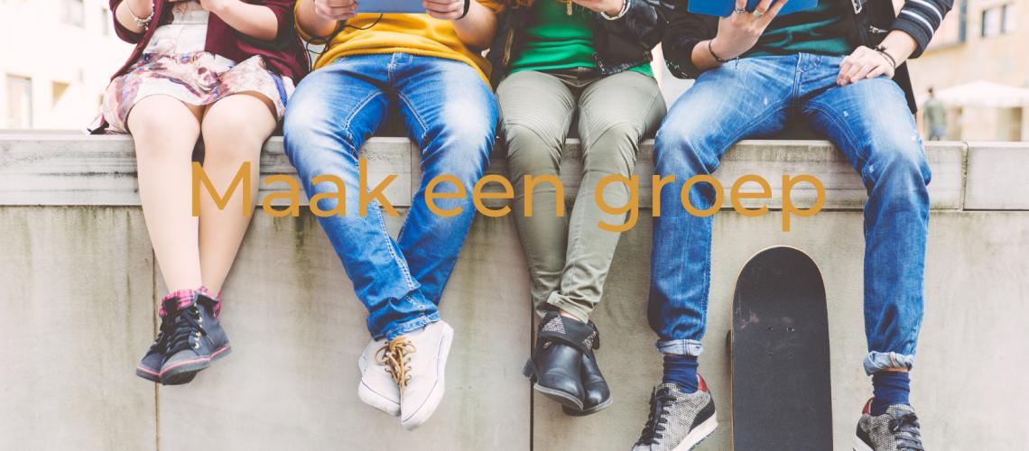 Maak een groep
